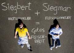 Siegbert und Siegmar Reiss, Brotsommelier, Fleischsommelier